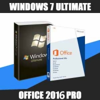 Windows 7 Ultimate + Office 2016 Pro