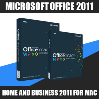 Microsoft Office Home and Business 2011 for Mac