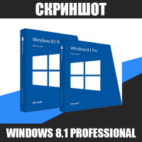 Скриншот Windows 8.1 Pro