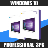 Windows 10 Professional (x32-x64) 3PC