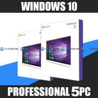 Windows 10 Professional (x32-x64) 5PC